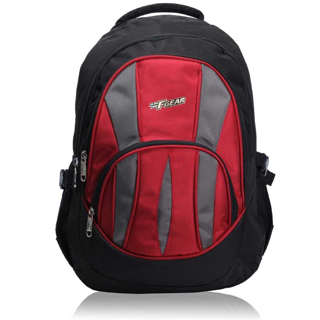 Adios 36 L Standard Backpack  (Red, Black)
