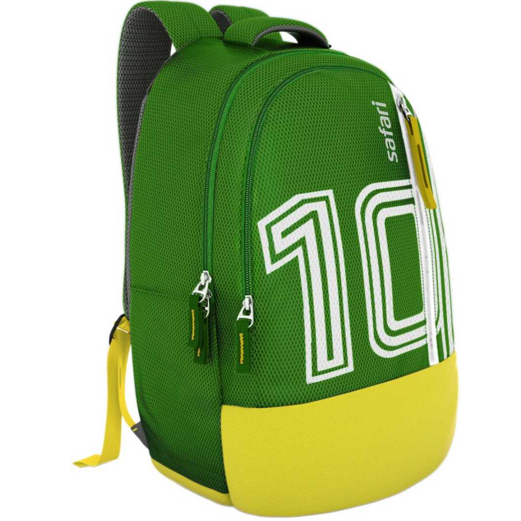 Footy Green 27 L Medium Backpack  (Green)