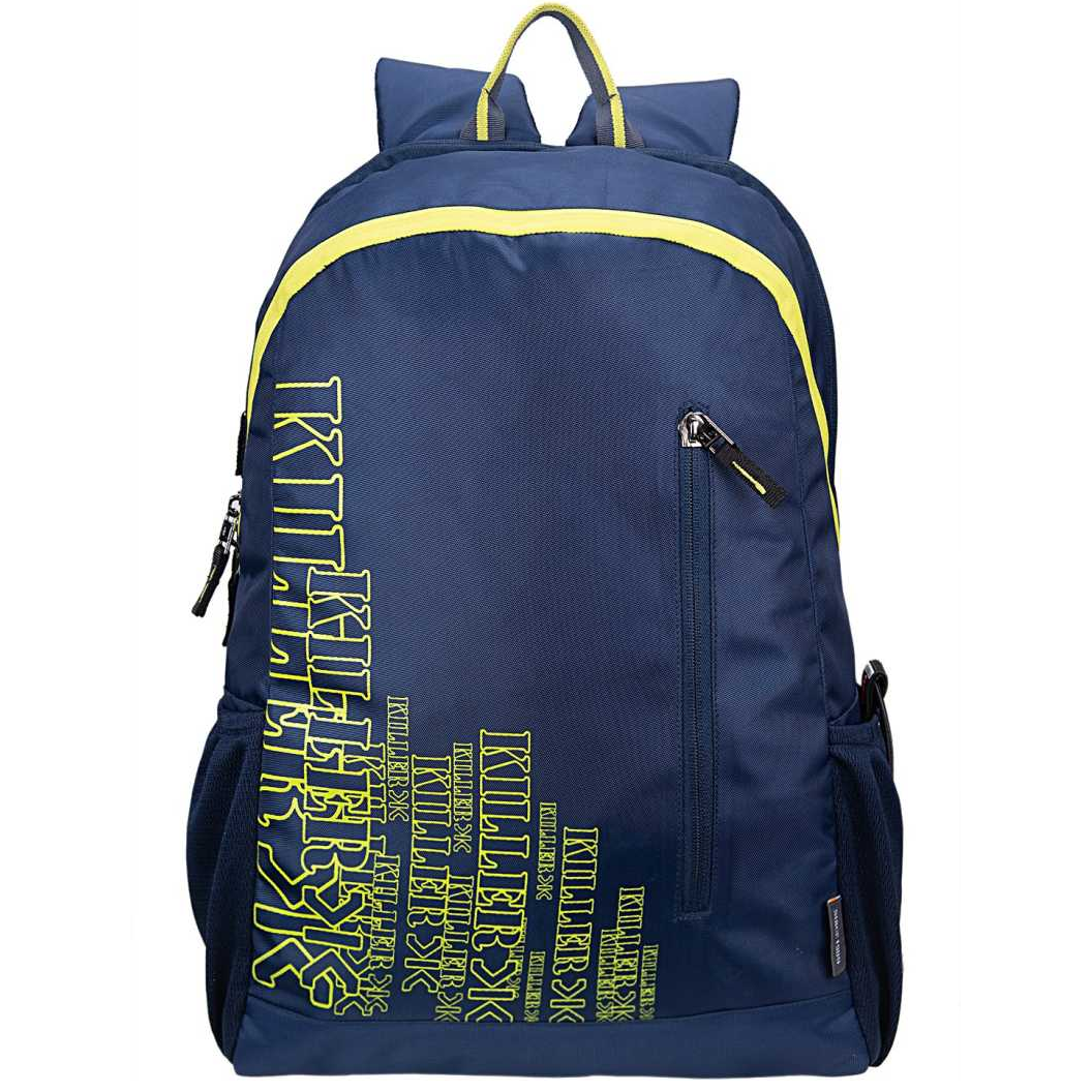Sprint Casual Water-Resistant Polyester Blue College Backpack 24 L Backpack  (Blue)
