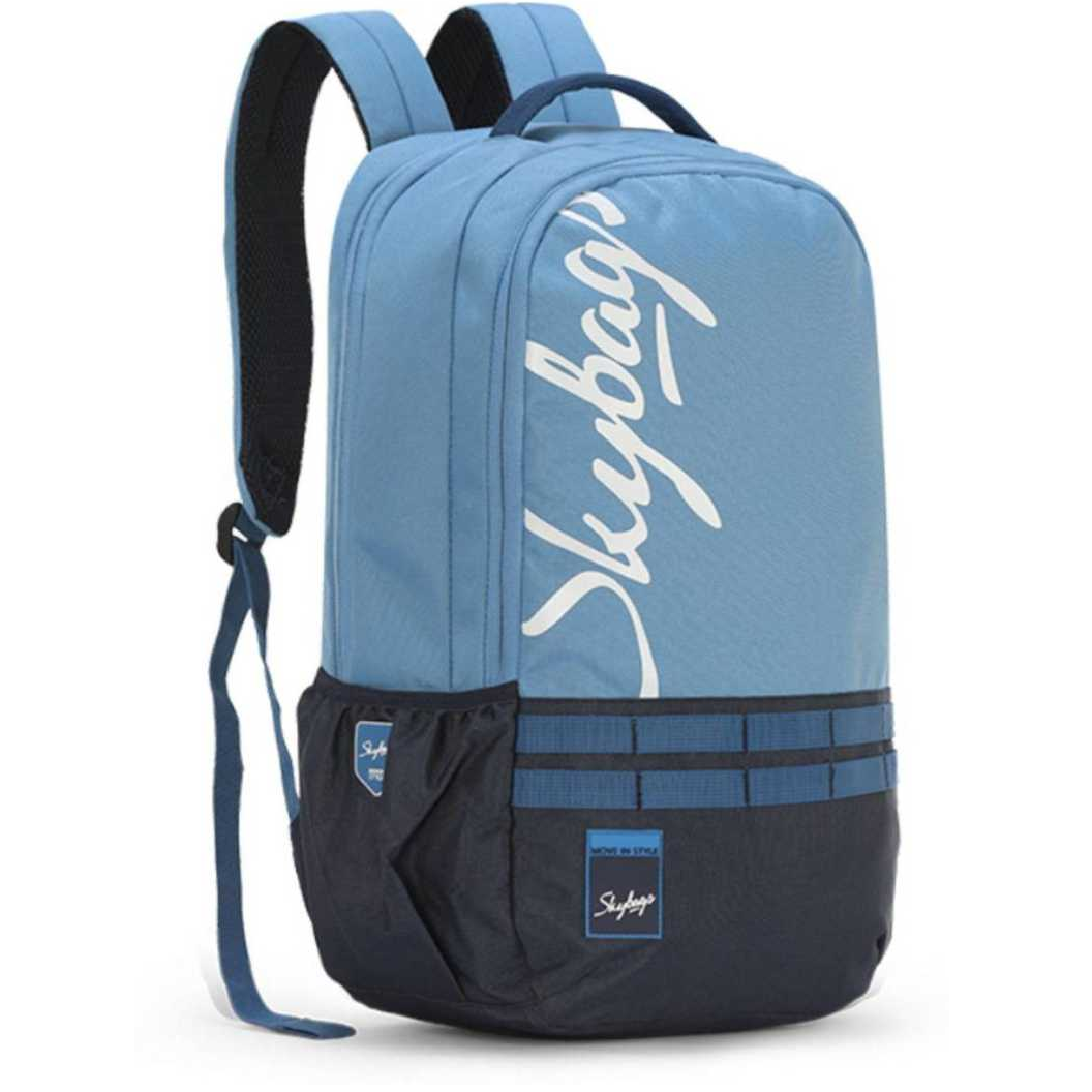 XCIDE 01 (E) SCHOOL BAG SKY BLUE 21 L Backpack  (Blue)