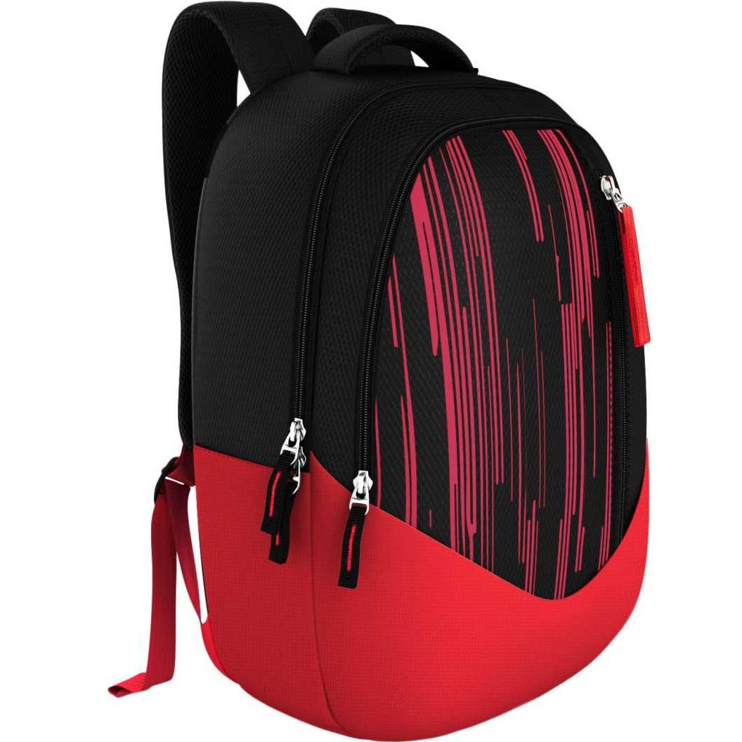 Moove USB Backpack 30 L Medium Backpack  (Black)