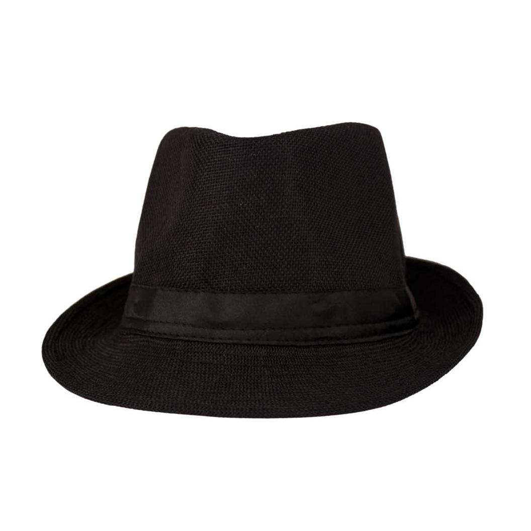 Solid Fedora Cap