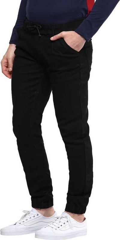 Slim Men Black Jeans