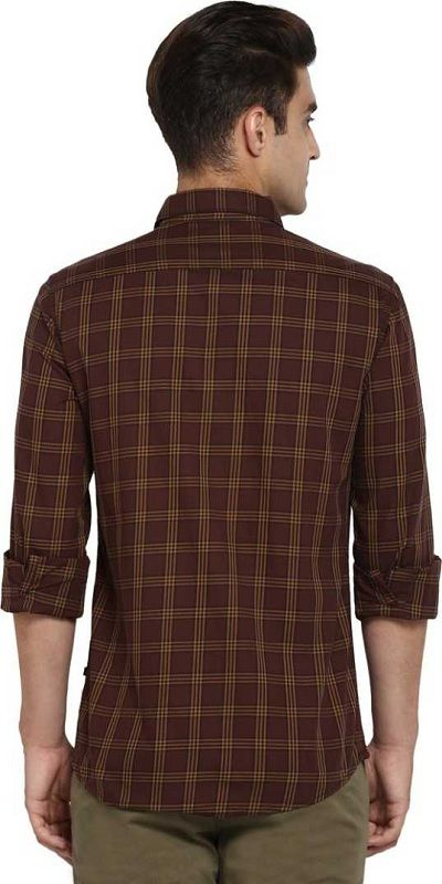 Men Checkered Casual Shirt