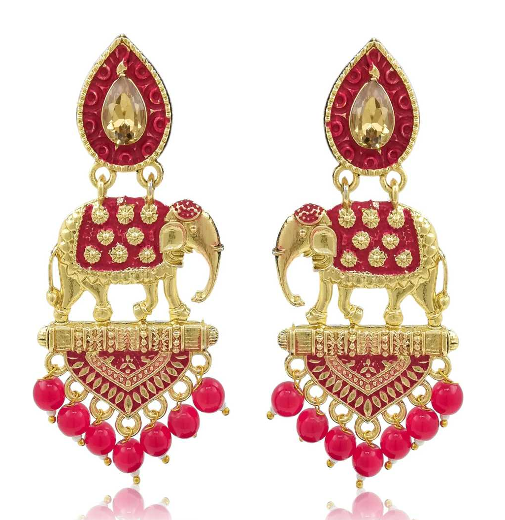 Elephant Bahubali Gold Plated