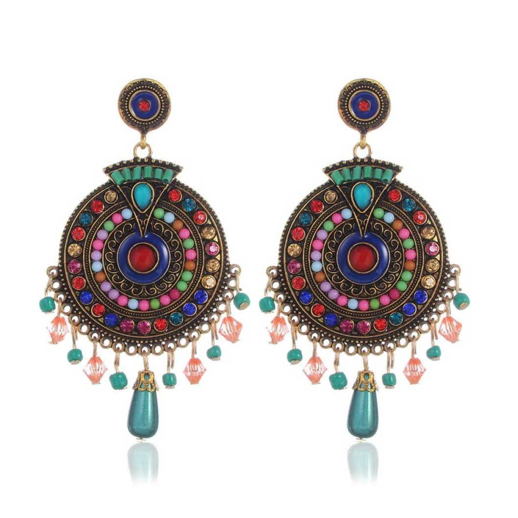 Ethnic Party Wear Jewellery Alloy Drops & Danglers