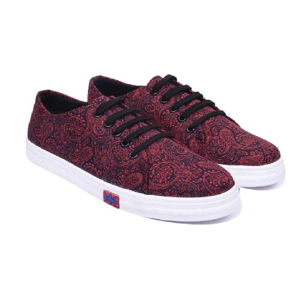 7075 Causal & Party Wear Sneakers For Women  (Burgundy)