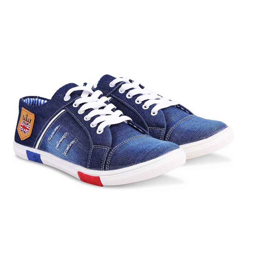 Sneakers For Men  (Blue)