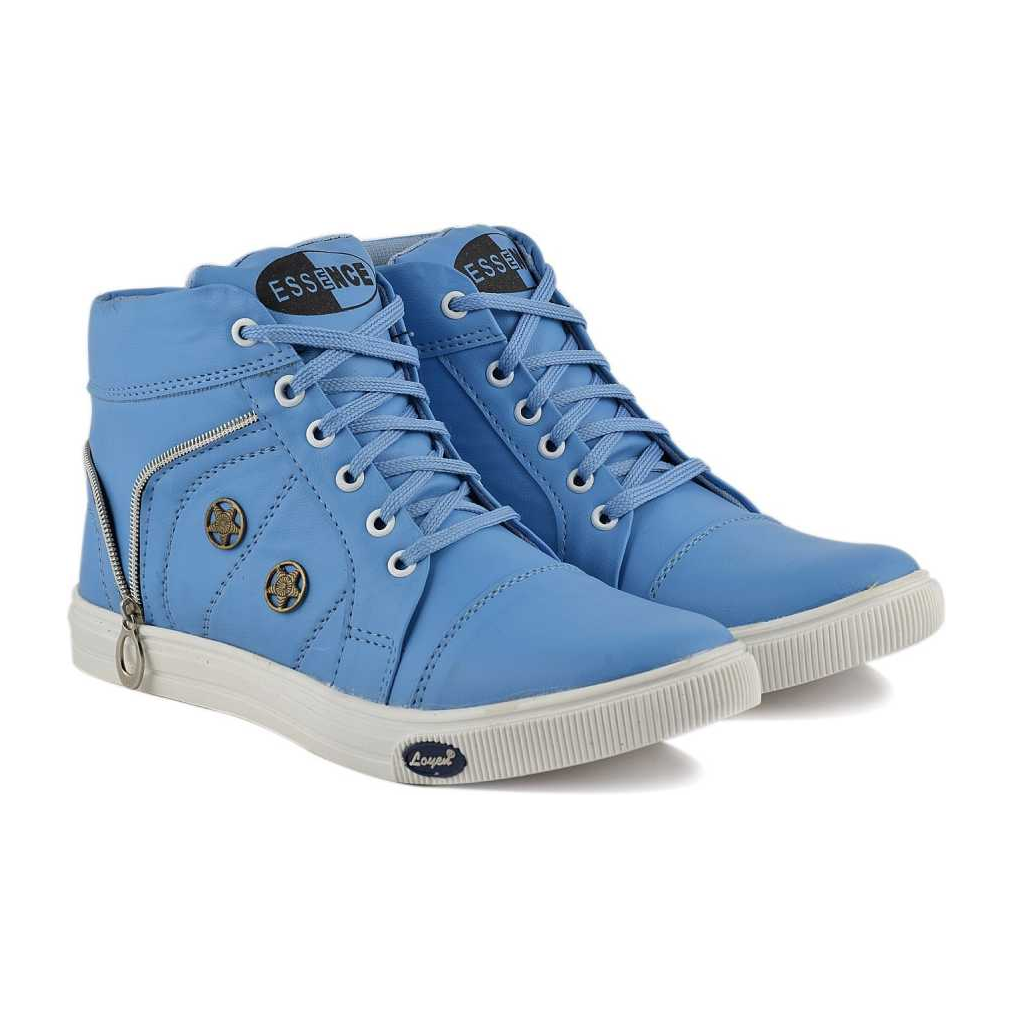 Sneakers For Men  (Blue) long