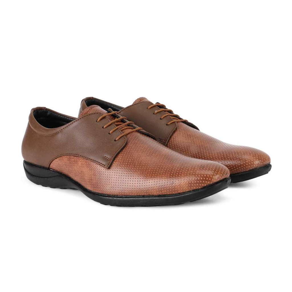 Lace Up For Men  (Tan)1