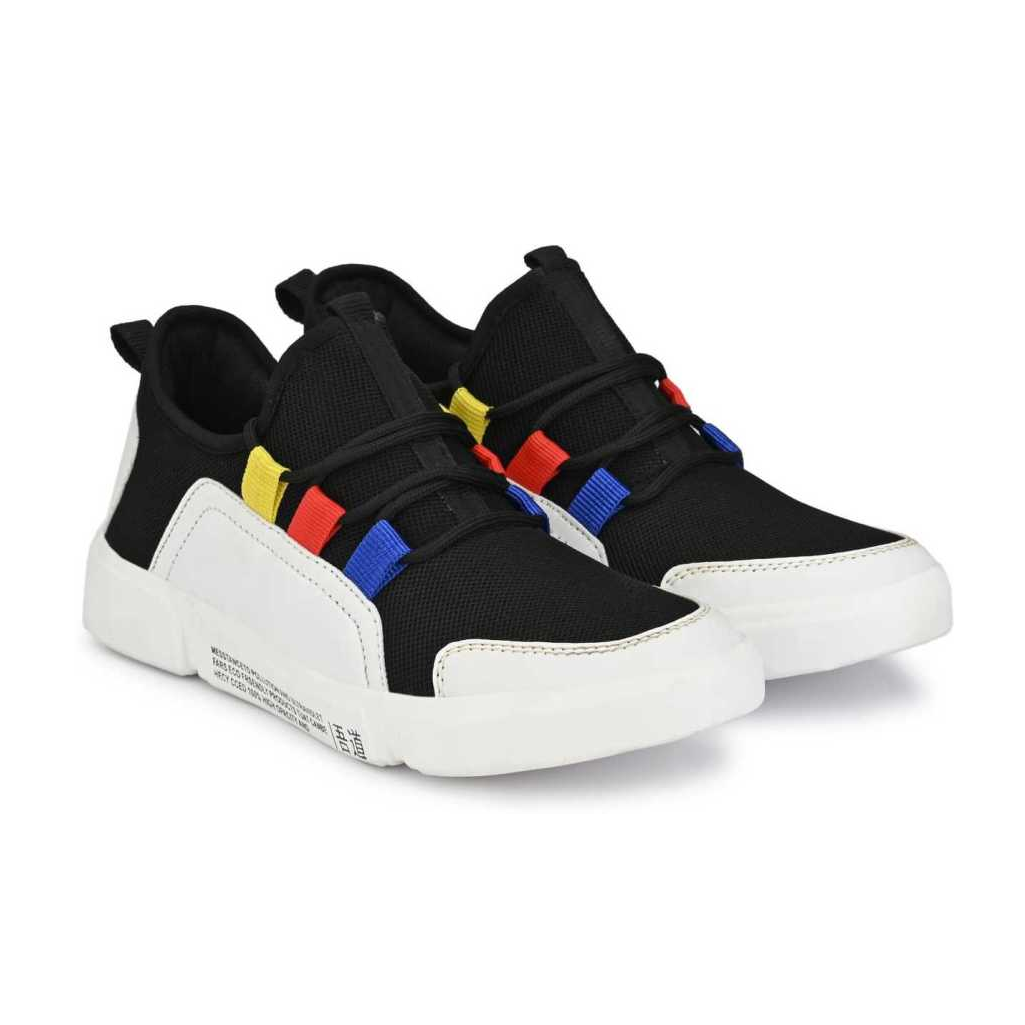 Stylish Party wear Casual Shoe For Men And Boys Sneakers For Men  (Black)