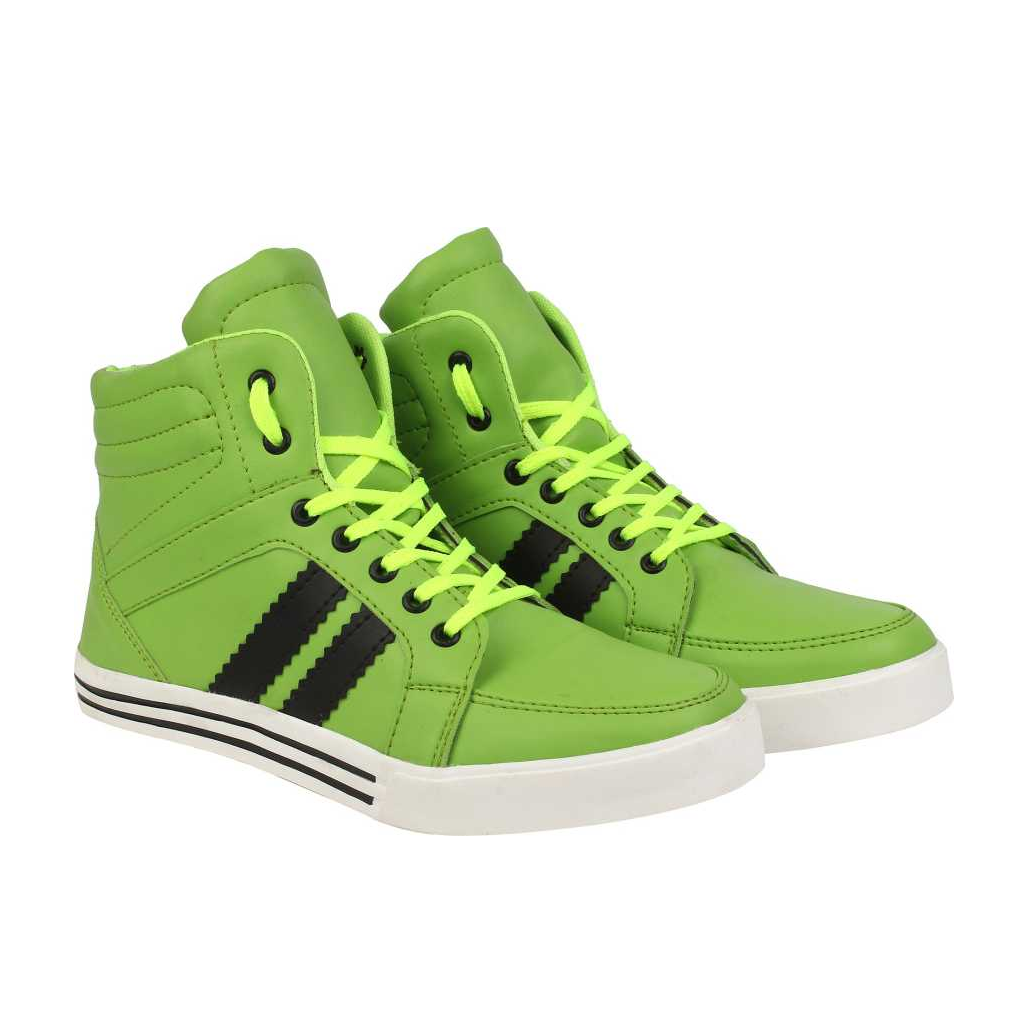 Sneakers For Men  (Green)