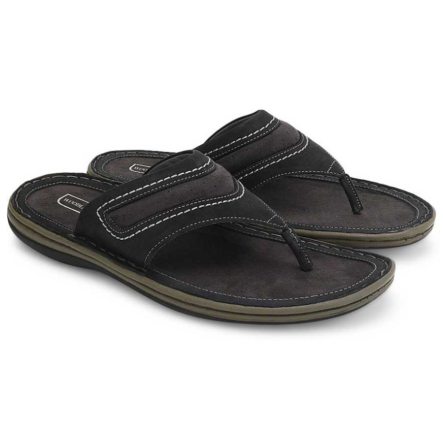 Men Black Casual Sandal