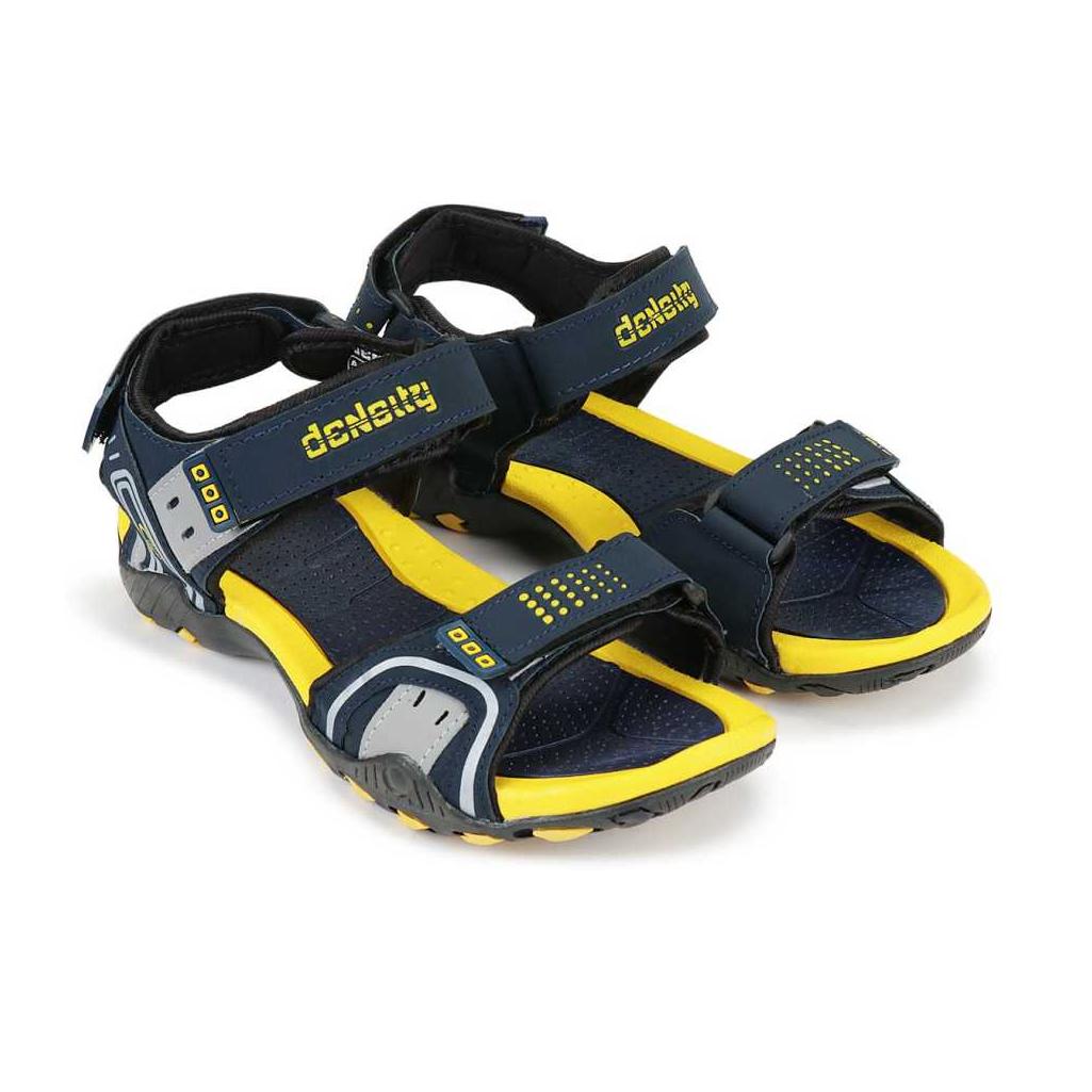 Men Yellow, Black, Grey Sports Sandals Sandal