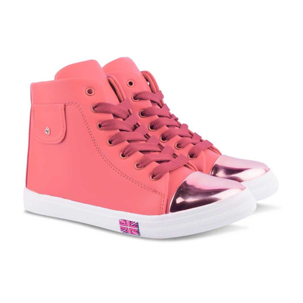 Sneakers For Women  (Pink)