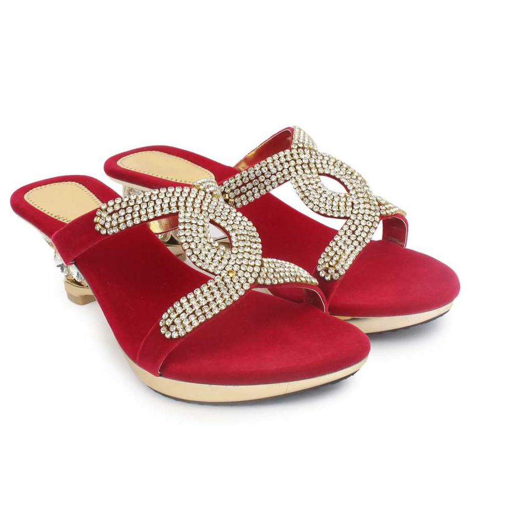 Women Red Heels Sandal