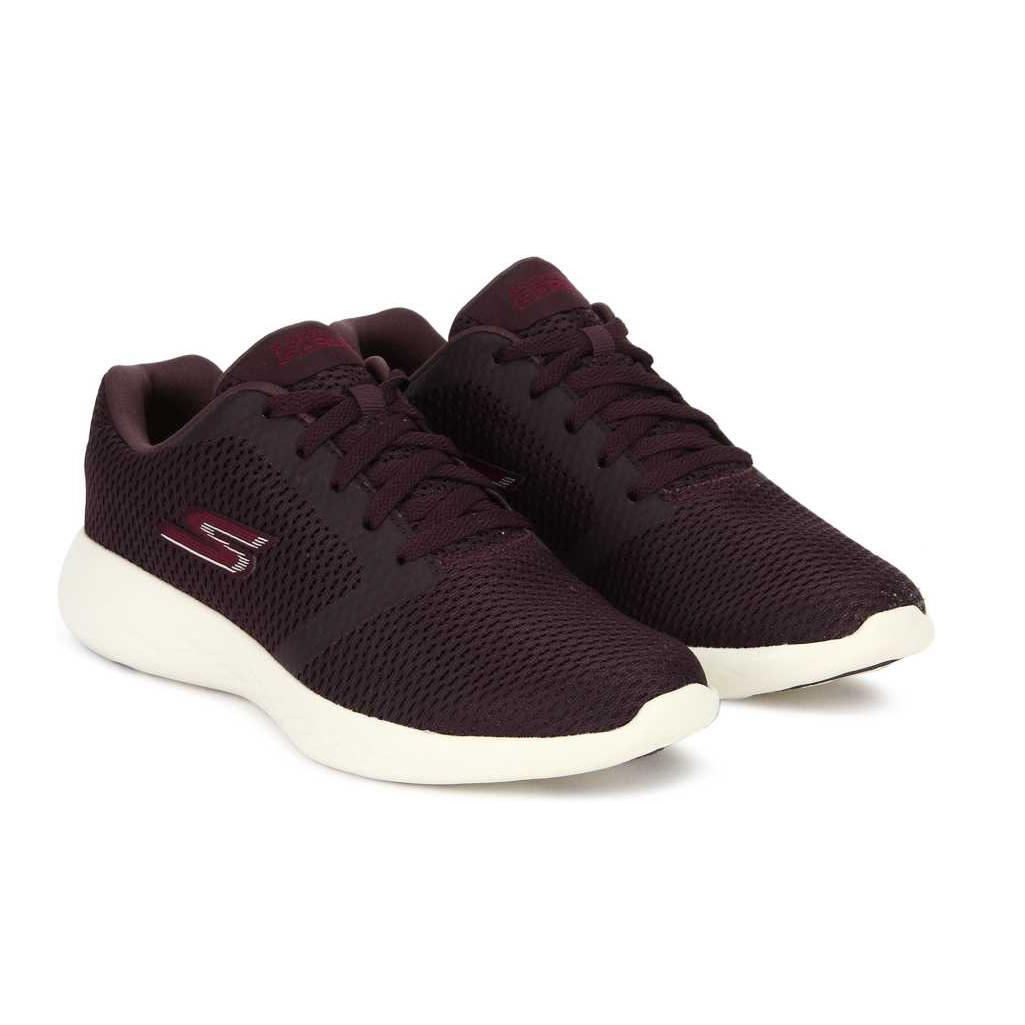 GO RUN 600 - REFINE Running Shoes For Women  (Burgundy)