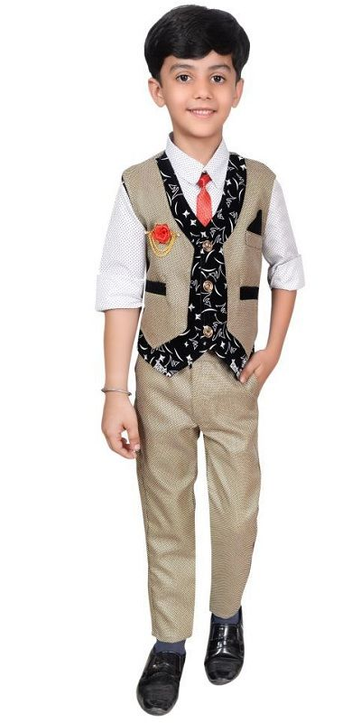 Children Ethnic Cotton Waistcoat 2