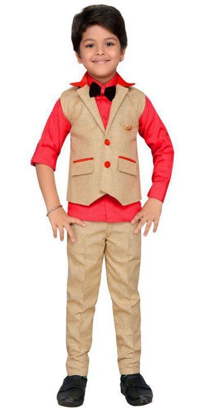 AJ Dezines kids party wearsuit set for boys