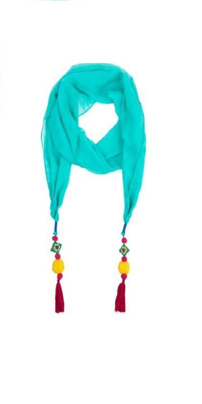 Chumbak Embellished Polycotton Women Fancy Scarf