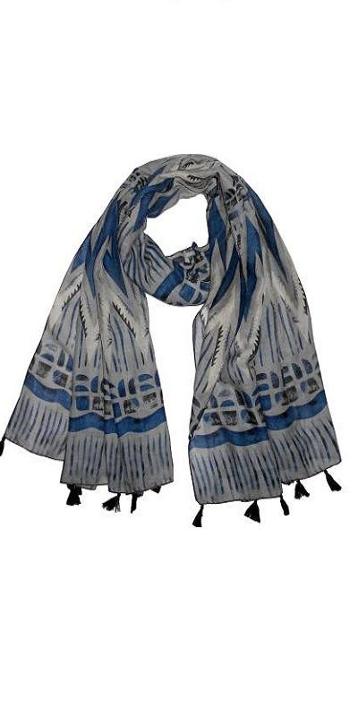 Get Wrapped Printed Polycotton Women Scarf