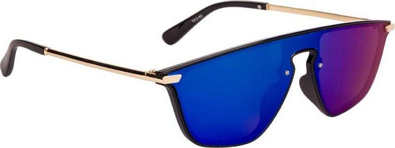 Mirrored Wayfarer Sunglasses (Free Size)