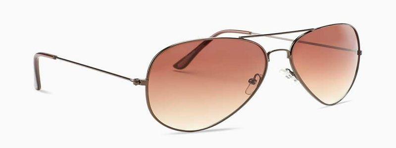 Gradient Wayfarer Sunglasses (Free Size)  (Brown)