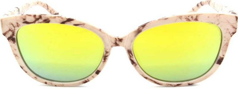Mirrored, Gradient, UV Protection Cat-eye, Oval, Round Sunglasses