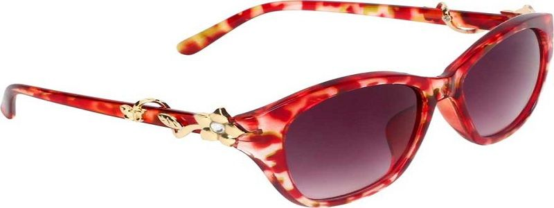 Gradient, UV Protection Over-sized Sunglasses (Free Size)  (Violet)