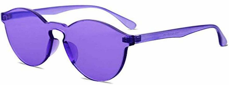 UV Protection Round Sunglasses (Free Size)  (For Girls)