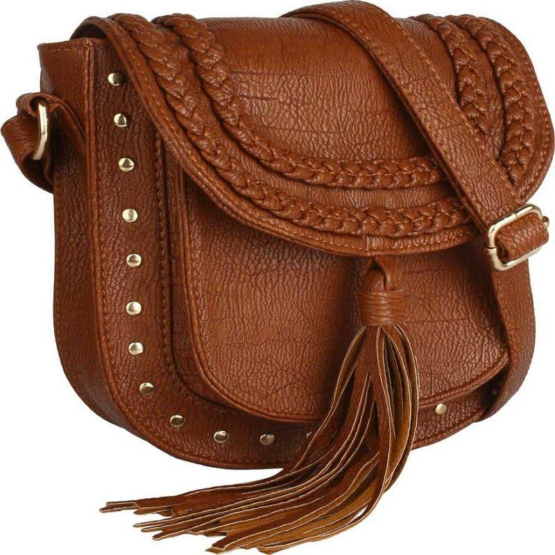 Brown Women Sling Bag