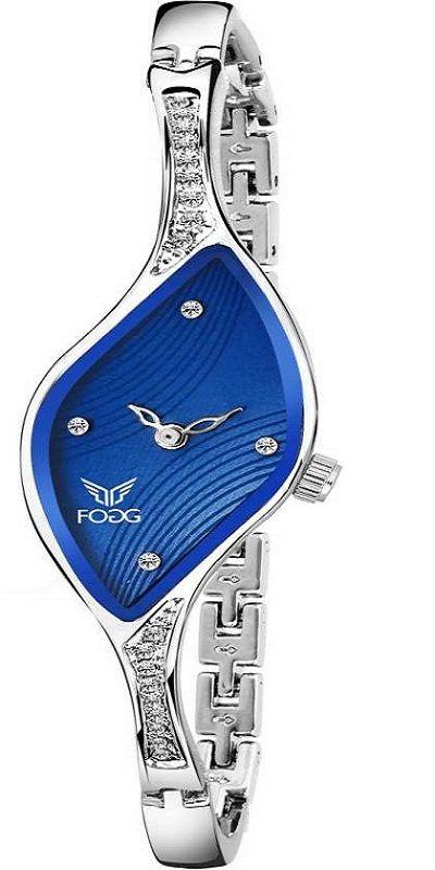 4060-BL Ethnic Blue Bracelet Look