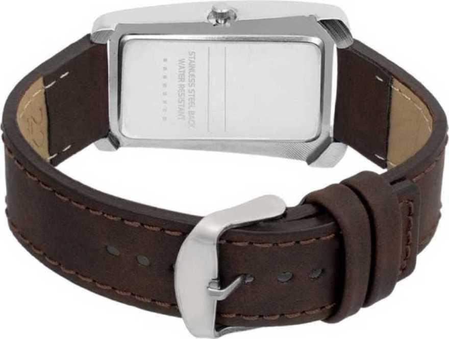 RS14-Analog Brown Strap Ladis Analog Watch Analog Watch