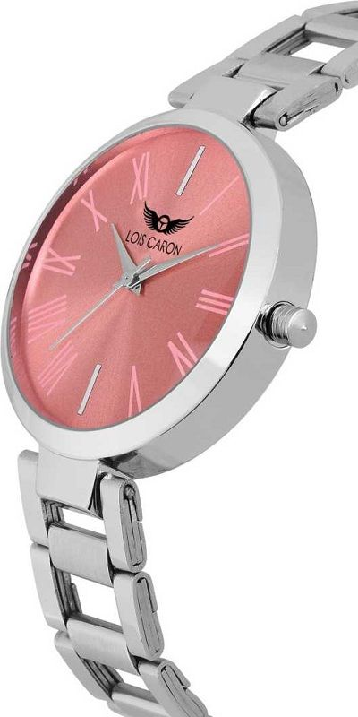 LCS-4632 PINK DIAL Analog Watch - For Girls